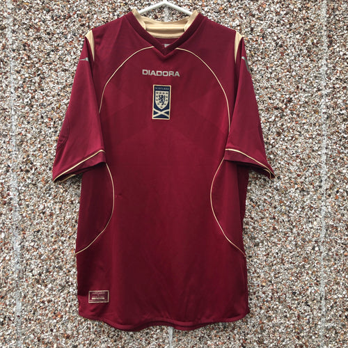 2007 2008 Scotland Third Football Shirt - L