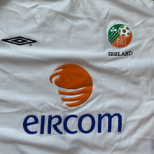 2001 02 IRELAND AWAY FOOTBALL SHIRT - XL