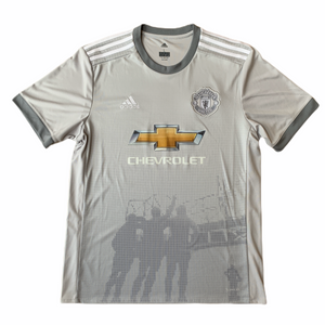 2017 18 MANCHESTER UNITED THIRD FOOTBALL SHIRT - S