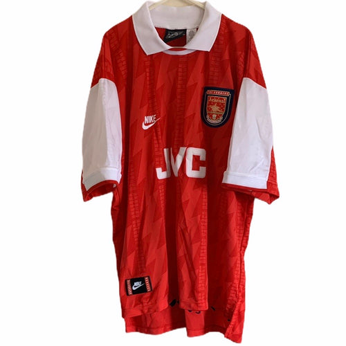 1994 1996 Arsenal home football shirt - L