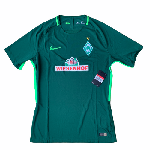 2017 18 WERDER BREMEN PLAYER ISSUE HOME SHIRT *BNIB* - L