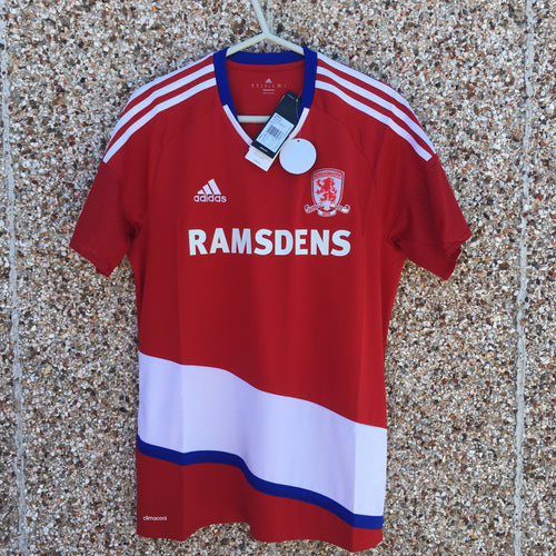 2016 2017 Middlesbrough home Football Shirt *BNWT* - Sizes