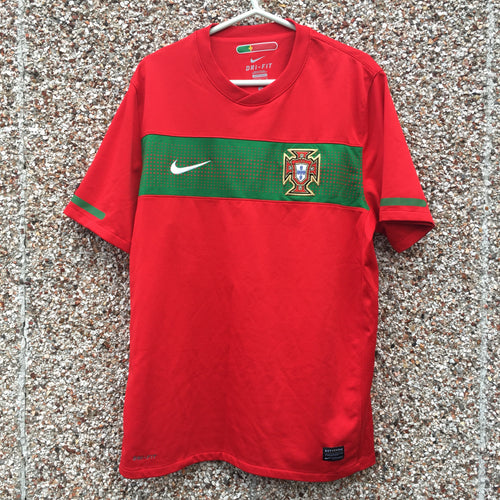 2010 2011 Portugal Home Football Shirt - L