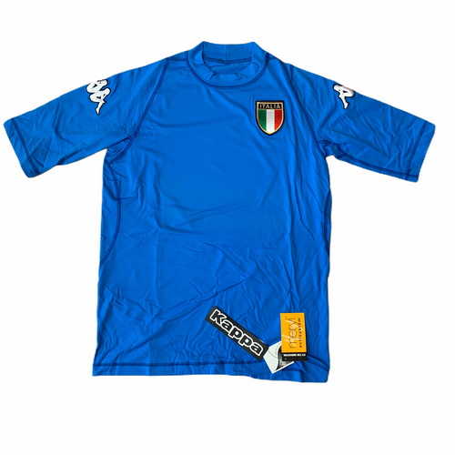 2003 04 ITALY KAPPA HOME FOOTBALL SHIRT - L