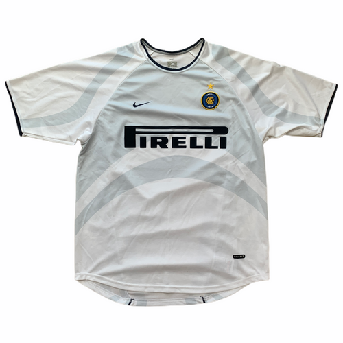 2001 02 Inter Milan away football shirt (excellent) - M