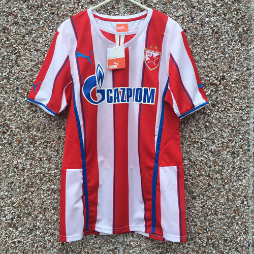 2013 2014 Red Star Belgrade Home Football Shirt BNWT - S