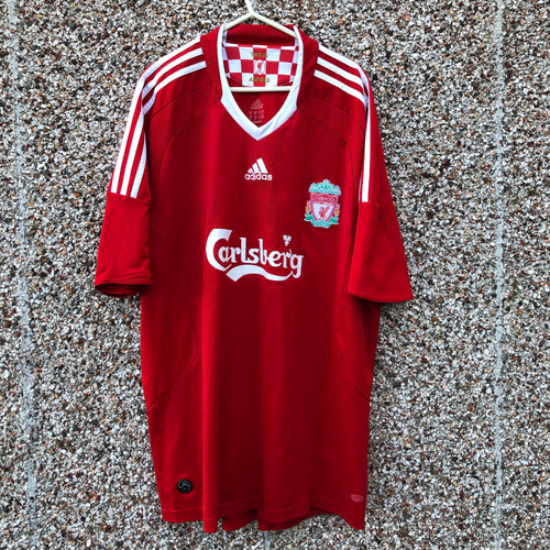 2008 2010 Liverpool home Football Shirt - XL