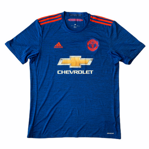 SOLD 2016 17 MANCHESTER UNITED AWAY FOOTBALL SHIRT - L