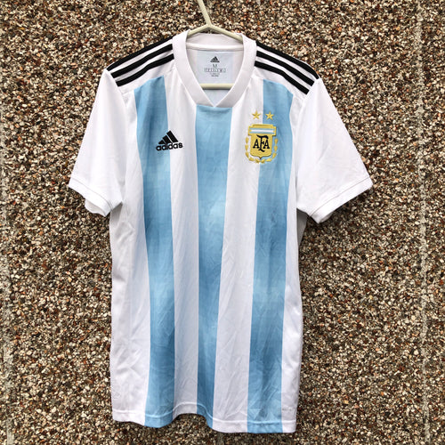 2018 2019 ARGENTINA HOME FOOTBALL SHIRT - M