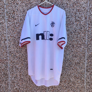 2001 2002 Rangers away Football Shirt - M