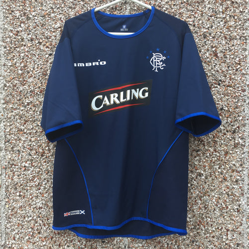 2005 2006 Rangers Third Football Shirt - M