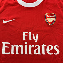 2010 2011 ARSENAL HOME FOOTBALL SHIRT - M
