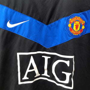 2009 2010 Manchester United away Football Shirt - M