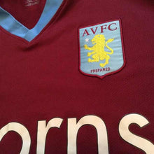 2008 2009 Aston Villa home Football Shirt - L