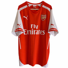 2014 2015 ARSENAL HOME FOOTBALL SHIRT - L