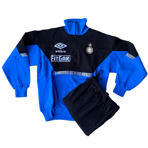 1992 94 INTER MILAN DRILL TRACKSUIT UMBRO FITGAR *BNWOT* - M