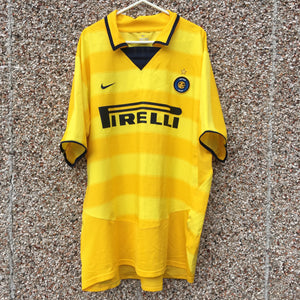 2003 2004 Inter Milan away Football Shirt - XL