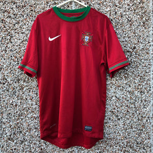 2012 2013 Portugal home Football Shirt - M