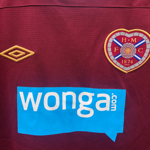 2011 2012 Heart of Midlothian home football shirt - XLB