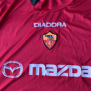 2003 04 ROMA HOME FOOTBALL SHIRT - XL