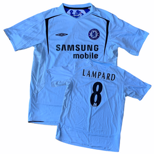 2005 06 CHELSEA AWAY SHIRT LAMPARD #8 - L