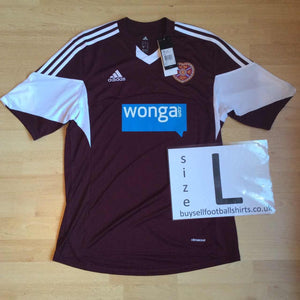 2013 2014 Heart of Midlothian home Football Shirt *BNWT* - L