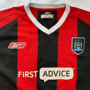 2003 04 Manchester City Away Football Shirt - XL