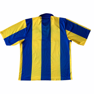 1993 95 LEEDS UNITED AWAY FOOTBALL SHIRT - L