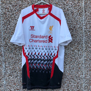 5b347d78f2b 2013 2014 Liverpool away Football Shirt - XL