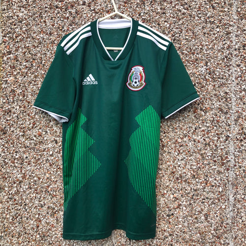 2018 2019 MEXICO HOME FOOTBALL SHIRT - S