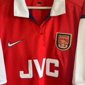 1998 1999 Arsenal home football shirt - XL
