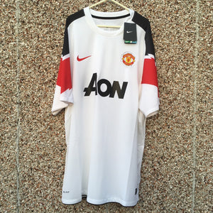 2010 2012 Manchester United away Football Shirt new - XXL