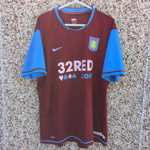 2007 2008 Aston Villa home Football Shirt Reo-Coker #20 - XL