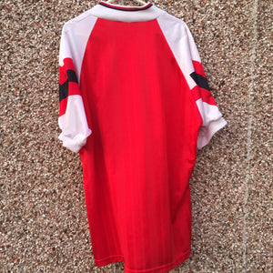 1992 1994 Arsenal Home Football Shirt - L