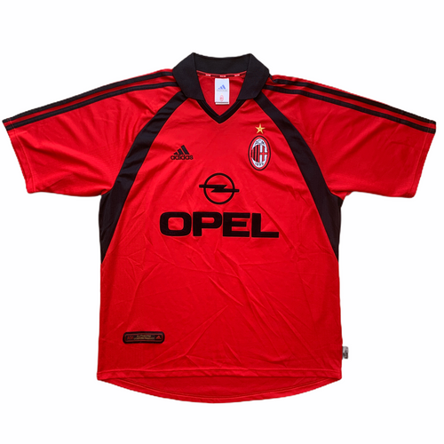 2001 02 AC Milan third football shirt (excellent) - L