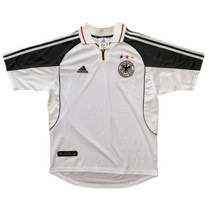 2000 02 Germany home football shirt (excellent) - M