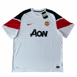 2010 12 MANCHESTER UNITED AWAY FOOTBALL SHIRT *BNWT* - XXL