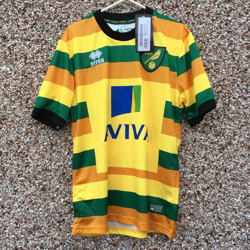 2015 2016 Norwich Third Football Shirt NEW - S