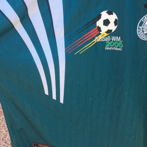 1996 98 Germany WM2006 away Football Shirt - XXL