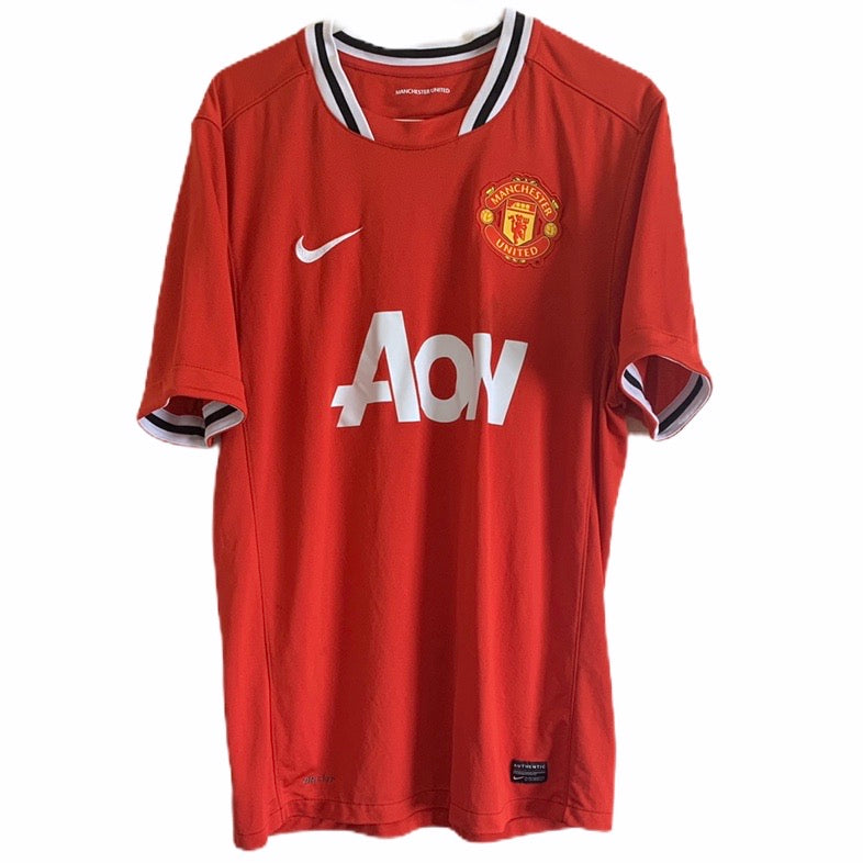 2011 2012 Manchester United home Football Shirt - L