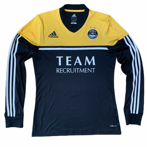 2012 13 ABERDEEN LS AWAY FOOTBALL SHIRT - S