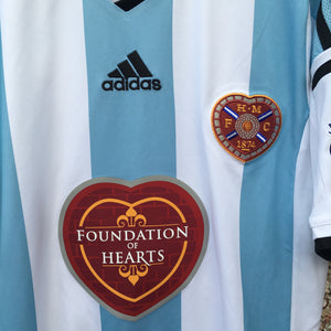 2014 2015 Heart of Midlothian away Football Shirt PRINCE BUABEN #17 - S