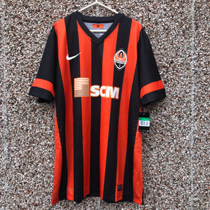 2013 2015 SHAKHTAR DONETSK EUROPEAN PLAYER ISSUE FOOTBALL SHIRT L.ADRIANO #9 *BNWT* - XL