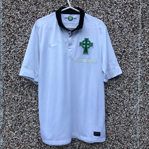 2012 2013 CELTIC THIRD Celtic 125th Anniversary Third Football Shirt - M