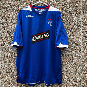 2006 2007 Rangers home Football Shirt - XXL