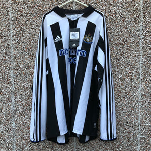 2003 2005 Newcastle United home Football Long Sleeves BNWT - XL