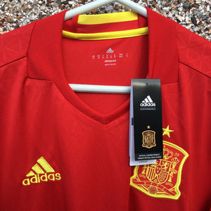 2016 2017 Spain home Football Shirt - M