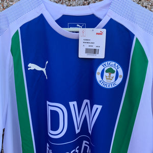 2018 19 WIGAN ATHLETIC HOME FOOTBALL SHIRT *BNIB* - XL