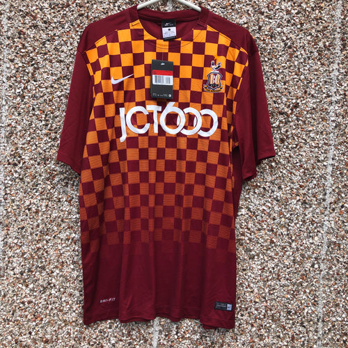 2015 2016 Bradford City home football shirt *new* - L