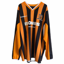 2005 06 HULL CITY L/S HOME FOOTBALL SHIRT - L